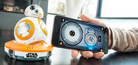 Tu droide BB-8 reaccionará si le pones la última de Star Wars