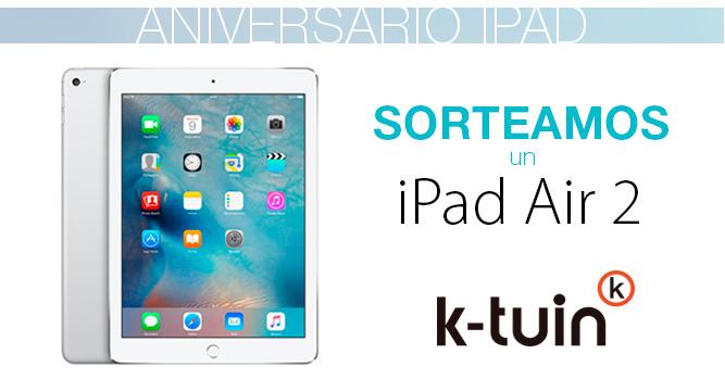 Y el ganador de nuestro sorteo iPad Air 2 es...