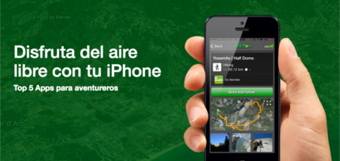 Las mejores aplicaciones de rutas y excursiones para el iPhone