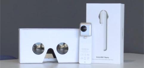 Insta360 nano: La cámara de realidad virtual para iPhone