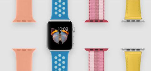 Las correas más summer para tu Apple Watch