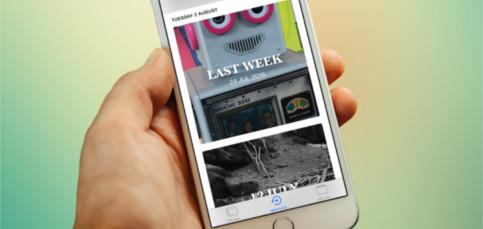 Organiza las fotos de las vacaciones con Recuerdos de iPhone