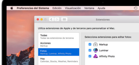 Retoca rápido tus fotos de las vacaciones con extensiones para Fotos de Mac