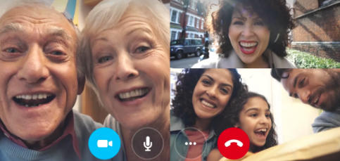 Envía tu felicitación de año nuevo por Skype
