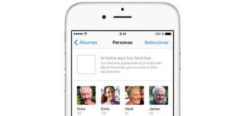 Tu iPhone memoriza a las personas que salen en tus fotos