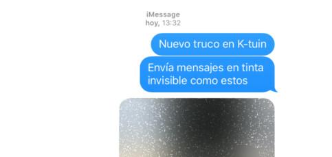 Cómo enviar fotos y texto oculto en tus mensajes