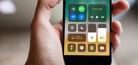 Truco: Personaliza el Centro de control de iOS 11