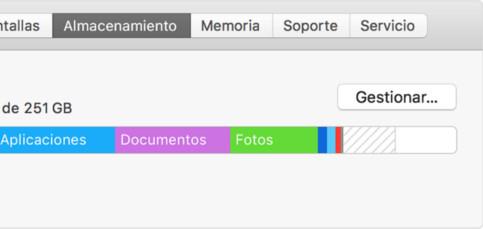 Ahorra espacio de almacenamiento y optimiza tu Mac