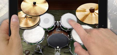 Toca el tambor con el iPad