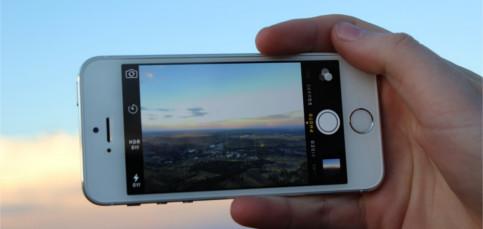 Ajusta la iluminación de una fotografía antes de hacerla