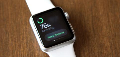 No te quedes sin batería en tu Apple Watch