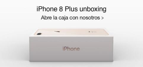 Unboxing del iPhone 8 Plus: Primeras impresiones
