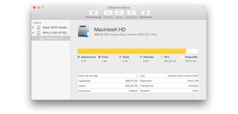 ¿Qué formato de disco escoger en Mac?