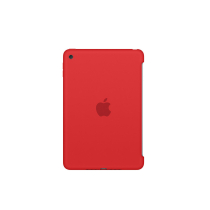 Funda Silicone Case para el iPad mini 4 Rojo