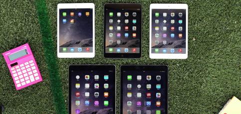 Conoce la familia iPad