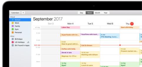 Calendario Icloud.Comparte Tu Calendario Personal Mediante Icloud Con Estos