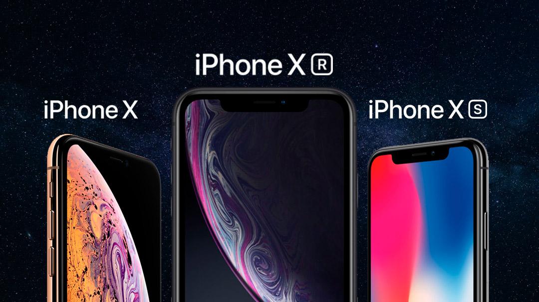 ¿iPhone X, iPhone XS o iPhone XR? Tenemos la respuesta